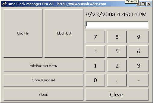 Time Clock Manager Pro