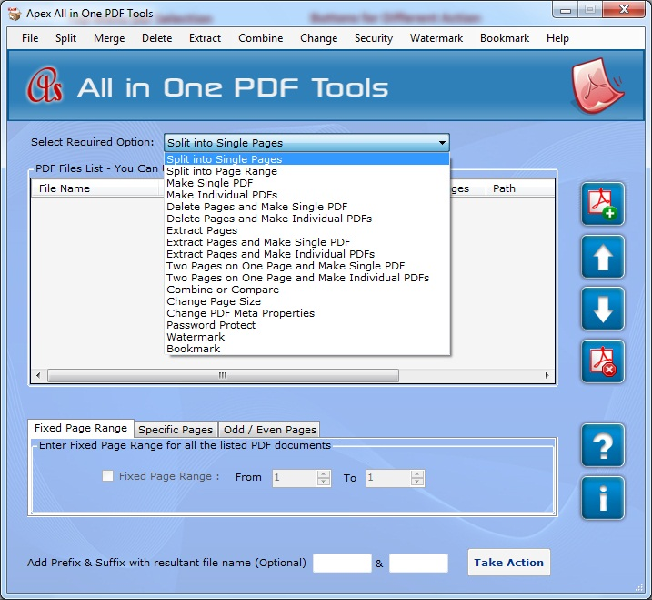 PDF Appending Program